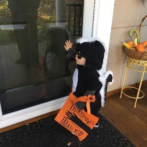 Skunk Halloween costume